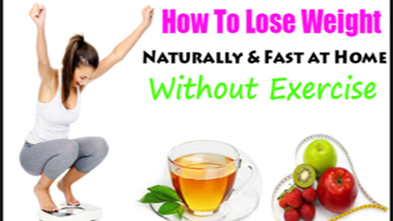 How To Lose Weight Without Exercise At Home