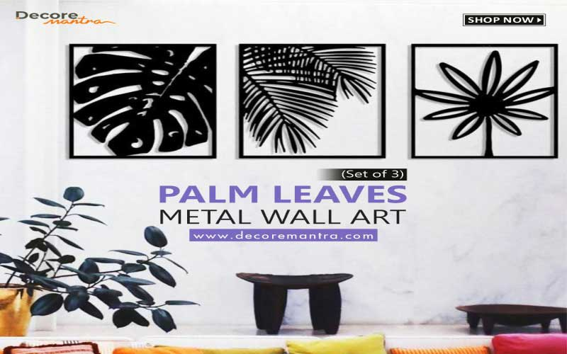 Gives a Distinctive & Authentic Look to Your Space with Metal Art!